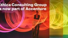 Accenture Completes Acquisition of Ethica Consulting Group