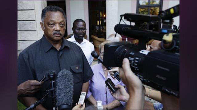 Jesse Jackson Determined To Free U.S. Hostage Despite Colombian Veto