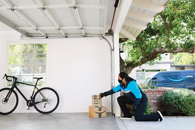 Amazon Key in-garage delivery