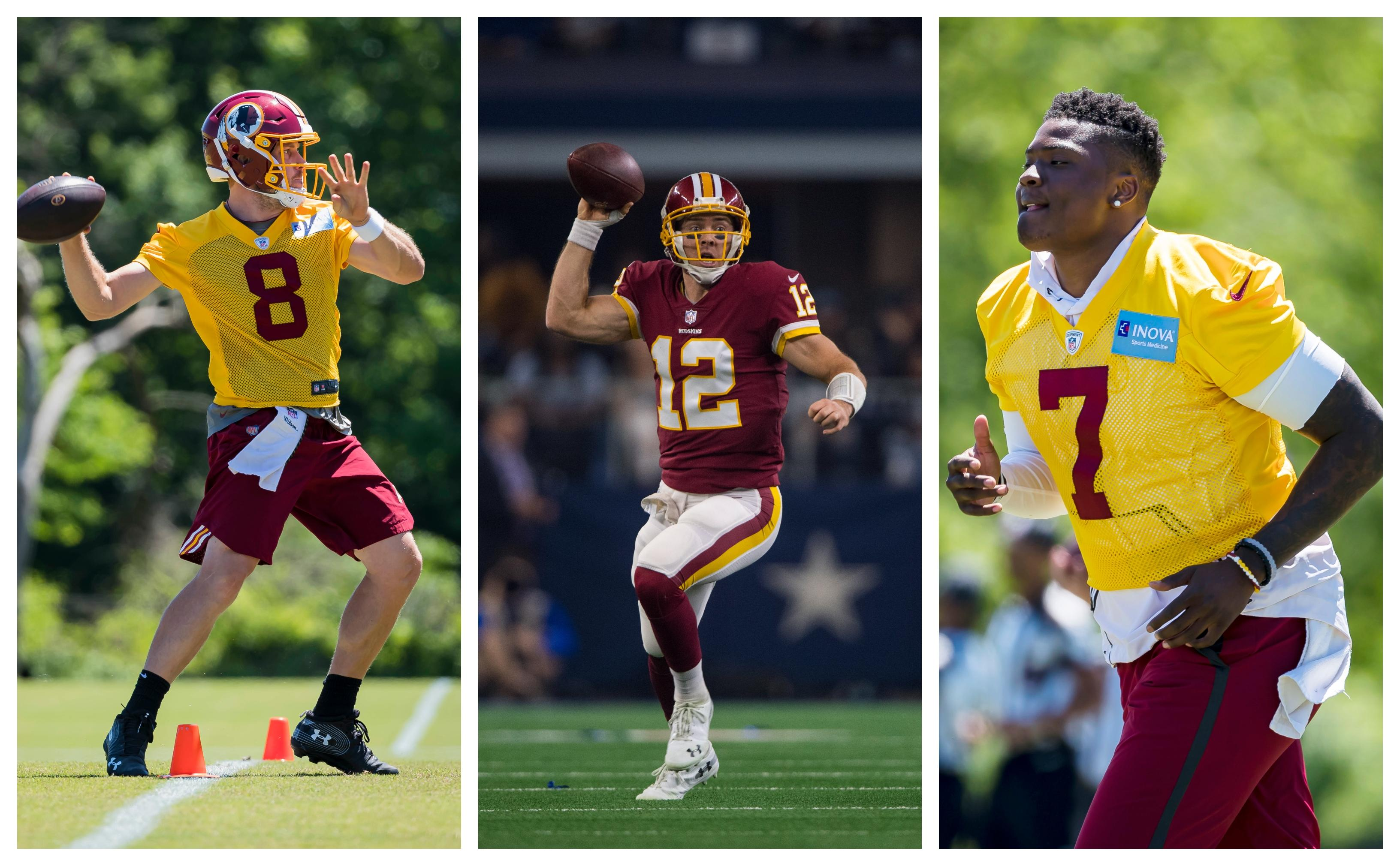 2926a5f980f65 Mike Florio: The Redskins should start the QB who 'puts you in the best  position to win'