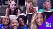 Best reunions of 2020: Jennifer Aniston and Brad Pitt, 'The Fresh Prince of Bel-Air' cast and more