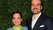 Lily Allen fuels David Harbour engagement rumours with picture of huge diamond ring