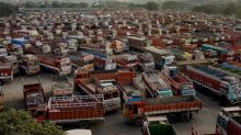 Indefinite nationwide truck strike begins; 90 lakh trucks to be off roads in protest against soaring fuel prices