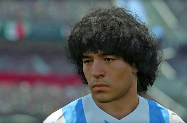 Soccer icon Maradona threatens to sue Konami for using his face (update)
