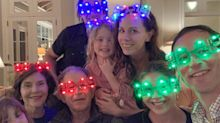 The Bush Family — Including George W. — Celebrates New Year's Eve with Goofy Glasses