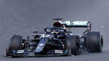 F1 - GP de Grande-Bretagne - Lewis Hamilton (Mercedes) remporte le GP de Grande-Bretagne sur trois roues