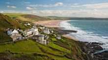 A postcard from Woolacombe, where the beach is less busy than officials suggest