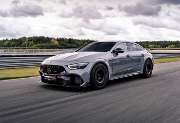 GT 63 S不夠看?BRABUS推出Mercedes-AMG GT 63 S 4MATIC改裝 Rocket 900極速330公里