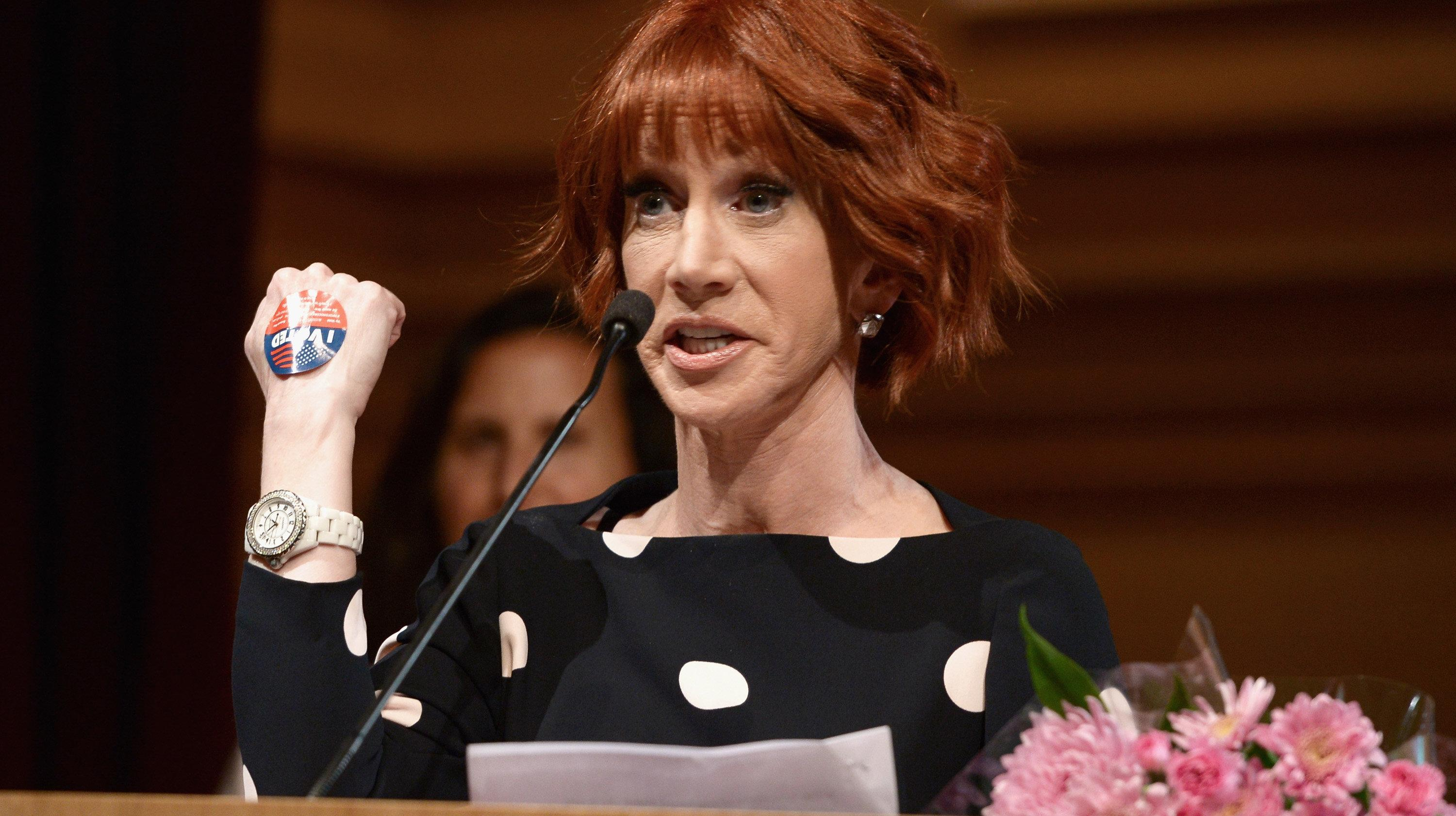 Kathy Griffin Says 'F**k You' To 'Feckless Piece Of S**t' Melania Trump