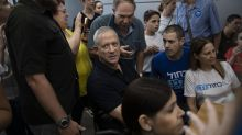 AP PHOTOS: Ex-army chief hoping to be Israel's next premier