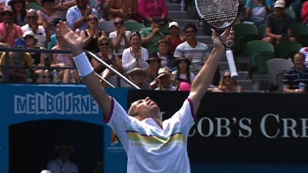 Highlights: Djokovic v Stepanek