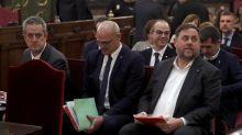 """La Justicia catalana concede """"semilibertad"""" a los líderes secesionistas"""