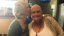 Paris Jackson Gives a Sweet Kiss to Cancer-Stricken Mother Debbie Rowe