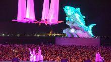 宛如台版迪士尼!台灣燈會外媒都驚嘆