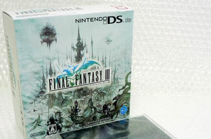 FF III Crystal DS Lite boxart