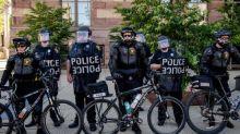 Cincinnati police raise 'Blue Lives Matter' flag outside justice center