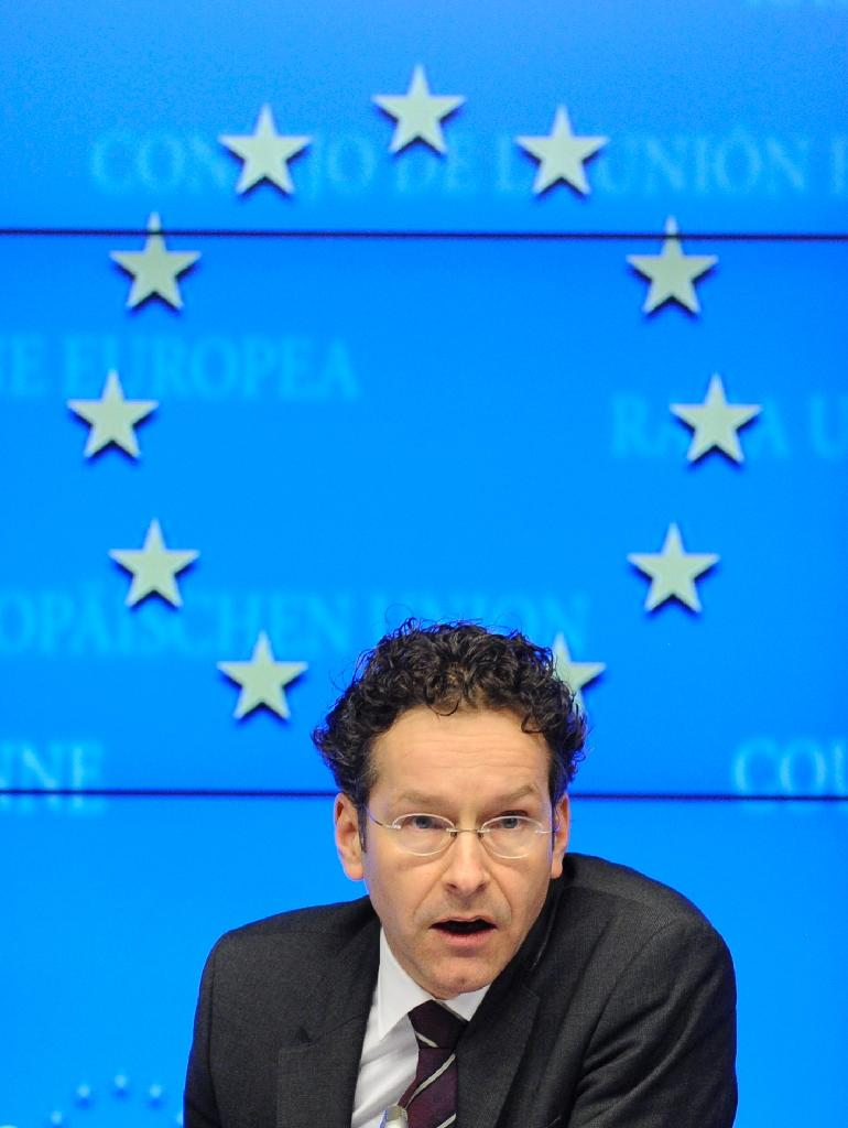 """When not wrestling with weighty economic matters, Dijsselbloem -- also known as """"Mr Euro -- likes dancing tango and watching Monty Python (AFP Photo/JOHN THYS)"""