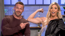 The sexy challenge that helped fitness fanatics Chris and Heidi Powell revive their marriage