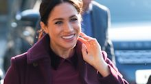 Meghan Markle Just Stepped Out Looking Like Holiday Perfection