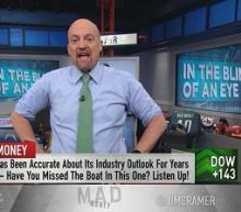 Cramer: Blink and you'll miss this market's windows of op...