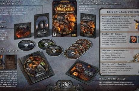 Watch the unboxing of World of Warcraft: Warlords of Draenor's CE