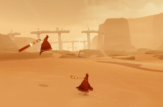 PS3 hit 'Journey' unexpectedly arrives on iOS