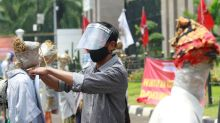 Indonesian protesters target government's flagship jobs bill