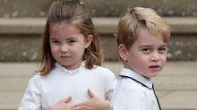 Prince George and Princess Charlotte steal the show at Princess Eugenie's wedding