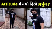 Arjun Kapoor spotted outside a clinic in Mumbai