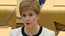 Nicola Sturgeon announces Bill for new Scottish independence referendum