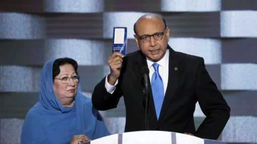 Father of fallen Muslim soldier to Trump: Have you read the Constitution?