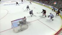 Kesler sneaks a quick shot over Crawford