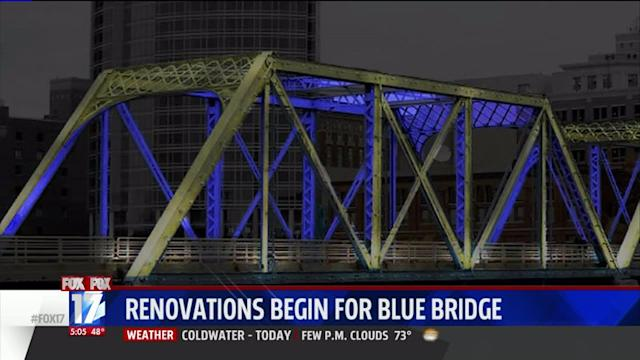 Big Blue Bridge Gets Modern Facelift