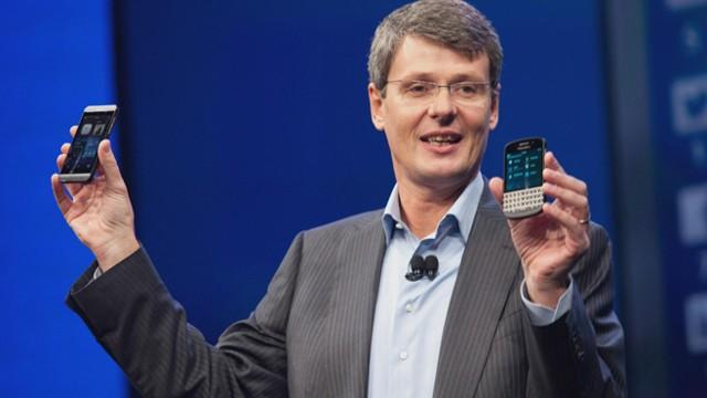 BlackBerry CEO on New Phones, Samsung and Apple