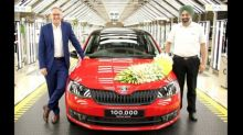 Skoda Rapid touches 1 lakh production mark with roll-out of Monte Carlo edition