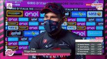 Cyclisme - Giro 2020 - 5e étape : Ganna : «Pas facile de grimper»