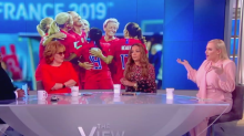 'The View' co-hosts defend U.S. women's national soccer team celebrations after historic win: 'These women should be celebrated'