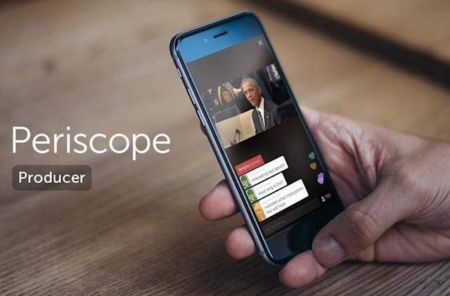 Streaming to Periscope is no longer confined to phones