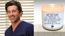 Attention, Grey's Anatomy lovers: You can actually buy a McDreamy-scented candle