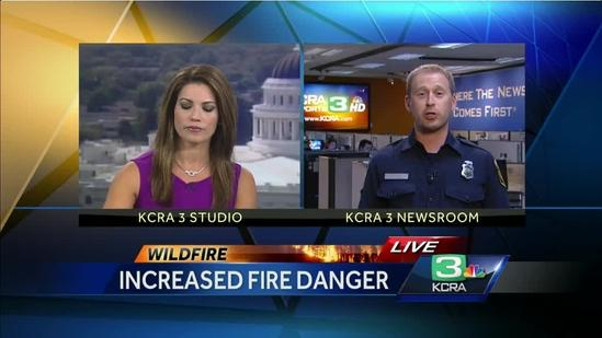 Cal Fire on high alert