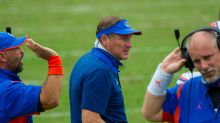 Gators drop six spots in Coaches Poll, AP Top 25