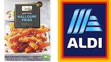Aldi relaunches popular halloumi fries