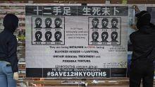 Hong Kong police arrest 9 for aiding dozen to flee territory