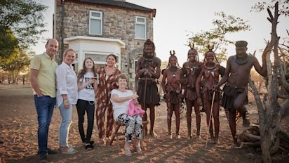 The British Tribe Next Door episode 1 review - a televisual take on Ebony and Ivory with the Gogglebox Moffatts