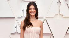 Camila Morrone Wore a Wedding Dress for First Oscars with Boyfriend Leonardo DiCaprio