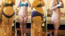 Mulher perde 50 quilos em um ano cortando apenas um grupo de alimentos