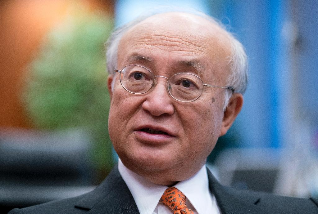 International Atomic Energy Agency head Yukiya Amano (AFP Photo/Joe Klamar)