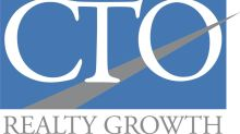 CTO Realty Growth Announces First Quarter 2021 Earnings Release and Conference Call Information