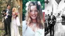 What fashion designers wear to get married, from Shrimps' Hannah Weiland to Tabitha Simmons