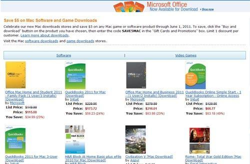 Amazon says 'no MAS' with Mac Download Store